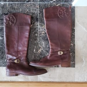 Tory Burch Equestrian boots  size 11